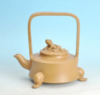 Good And Amazing 18th Century Chinese Yixing Teapot photo