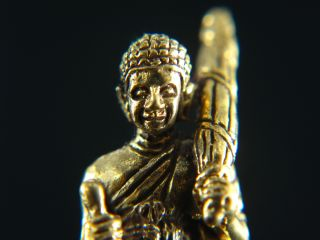 Amulet Phra Sivali Master Of Wealth And Fortune Bronze photo