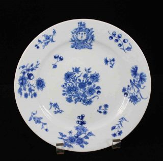 Antique,  Chinese Export Porcelain - - - Armorial Plate,  Ex - Elinor Gordon photo