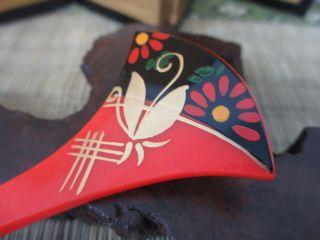 Japanese Geisya Kanzashi Hairpin,  Vintage,  Antique,  Old,  Rare,  Maiko,  Rare,  Japan - A36 photo
