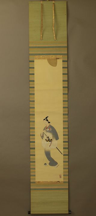 Japanese Hanging Scroll @b199 photo