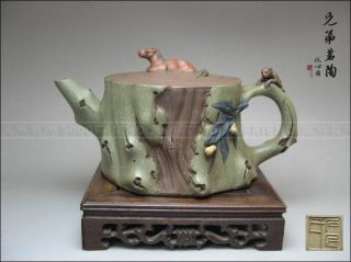5000friend - Ultra Rare Yixing Zisha Pottery Old Teapot photo