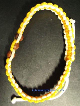 Bracelet With Pra - Kum Talisman,  Thailand Amulet