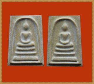 Real Thai Amulet Buddha Pendent Phra Somdej Bang Khun Prom Be:2549 Very Rare photo