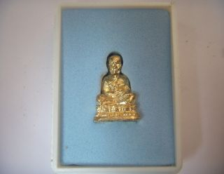 Lp Tuad : Wat Saohai : Rumrui Nguen Thong Collection : Thai Holy Monk ' S Pendant photo