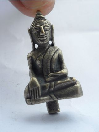 Brass Statue Phra Yot Thong photo