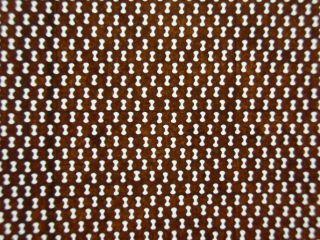 Is379 Japanese Ise Katagami Kimono Stencil Pattern Print Lattice Dot Grill Net photo