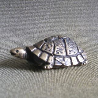 Wealth Turtle Rich Luck Good Business Charm Thai Amulet photo