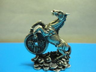 Wealth Horse Rich Luck Good Business Charm Thai Amulet photo