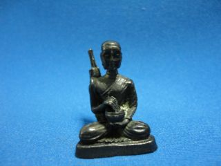 Phra Sivali Wealth Luck Good Business Charm Thai Amulet photo