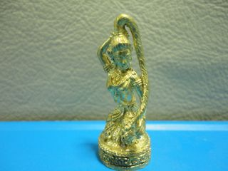 Mother Earth Wealth Rich Luck Charm Thai Amulet photo