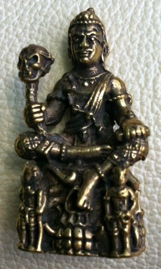 Prince Of Devils Wealth Rich Powerful & Lucky Attraction Thail Amulet photo