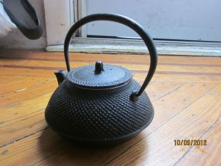Cast Iron Teapot - Japan Vintage Style photo