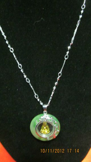 Fancy Gift Chinese Graciously Necklace/pendant Buddha Lucky Promotion photo