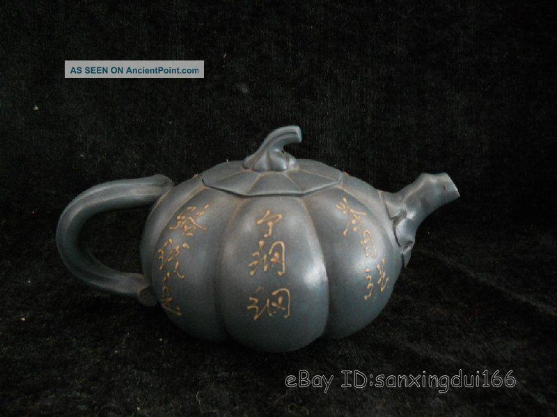 Rare Chinese Yi Xing Zi Sha Teapot Teapots photo