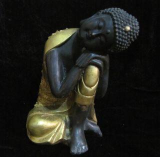 - - Collection Of Old Tibet - Sleep Copper Sakyamuni Buddha photo