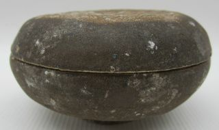 Round Lidded Antique Chinese Song Dynasty Pottery photo
