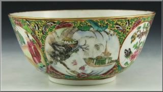 Early 19th Century Antique Chinese Famille Rose Bowl photo