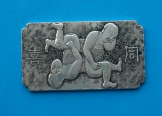 Old Chinses Exquisite Relief Antique Sculpture - T - X photo