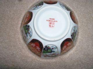Imari Porcelain Flower Shaped Bowl photo
