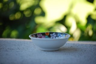 Miniature Vintage Chinese Salt Bowl Dish photo