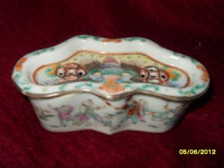 Rare Antique Chinese Cicada / Potpourri Box photo