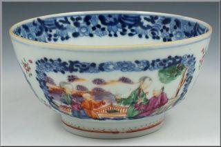 18th Century Antique Chinese Export Porcelain Bowl photo