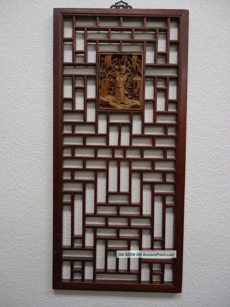 Asian Wooden Wall Art 112