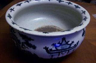 19th C Qing Dynasty Chinese Export Bowl,  Dragons 5 Claws photo