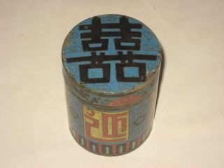 Exquisite Big Antique Chinese Qing Dynasty Cloisonne Opi Pill Box photo