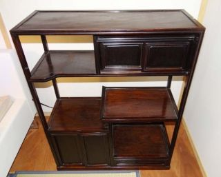 Chinese Rosewood Display Chest photo