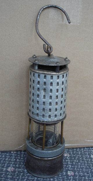 Koehler Permissible Miners Safety Lamp Type 20a.  Aluminum C.  1916 - 1919 photo