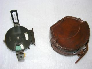 Combined Prismatic Compass And Clinometer By J.  Halden & Co.  Ltd,  Late 19th C. photo