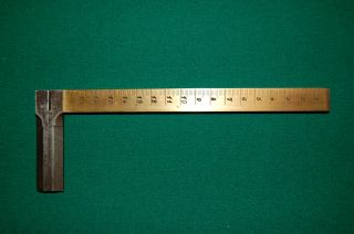 1790 ' S Rare Metric,  Metre,  Brass French Caliper/rule Mint Condition Very Rare photo