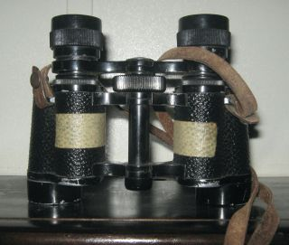 Vintage Stereo Lumina 8 X 32 Binoculars - Still Works photo