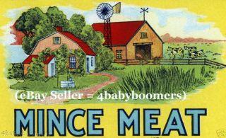 20s Antique Prohibition Alcohol Prescription Meat Label photo