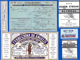 Dec 15 1923 Dec 16 Albert Gunther 1 Pint Of Liquor Prohibition Prescription Lot photo