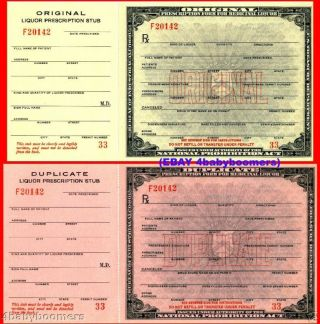 10 Mint Prohibition Prescription Medicine Rx Labels Lot photo