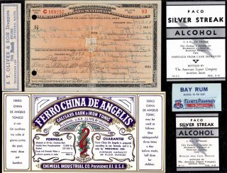 Aug 17 1925 ~nick Shelanka~prohibition Liquor Prescription Minnesota & Label Lot photo