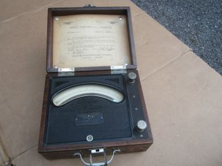 Antique Jewell Electrical Instruments Portable Ammeter (ampermeter) 1925 S/n567501 photo