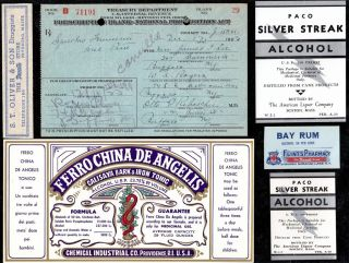 Dec 10 1923 Dec 13 Mrs James F Lee ~1 Pint Prohibition Prescription~ Buffalo Lot photo