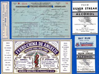 Dec 30 1923 Dec 29 ~ Pre New Years Eve ~ Theresa Mehler Prohibition Prescription photo