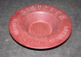 Bakelite Bowl Advert~electro Medical Equipment Company photo