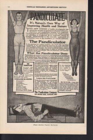 1920 Pandiculator Health Body Stretcher Stature Posture photo