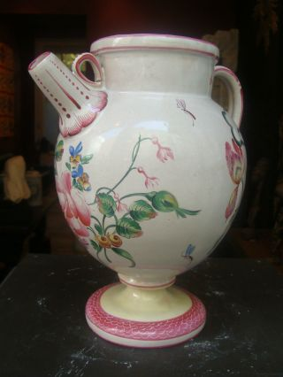 A Rare,  Porcelain Wet Drug Jar By Veuve Perrin.  Marseille.  Late 18thc. photo