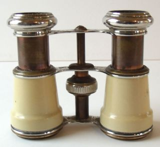 Antique Binoculars By Chevalier Paris Made In France photo