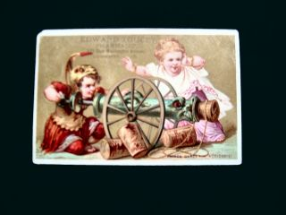 Victorian Trade Card=edward Touchey Pharmacy=pretend Roman - Canon=bridgeport - Ct photo