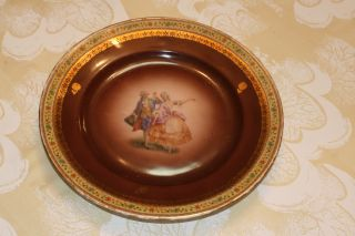 Vintage Plate From Czechoslovakia photo