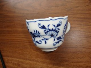 Antique Meissen Porcelain Cup photo