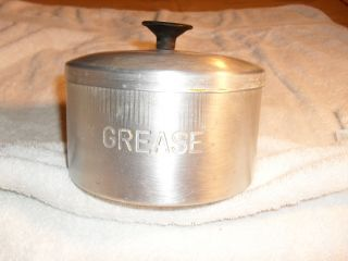 Collectible Tin Grease Holder From Estate Very Old And Peice photo